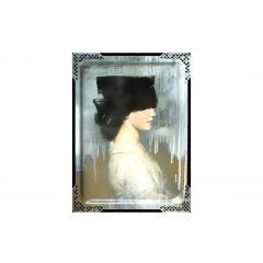 Tableau ida 2 rectangulaire 65 cm Portrait Ibride