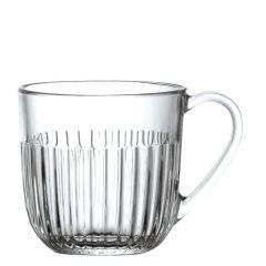 Tasse transparente verre 27 cl Ø 85 mm Ouessant La Rochere