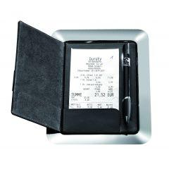Porte-addition rectangulaire noir 16x20 cm Aps