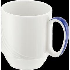 Tasse à déjeuner blanc porcelaine 28 cl Ø 7,90 cm Donna Senior Schonwald