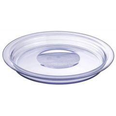 Cloche transparente plastique ronde Regithermie Pillivuyt