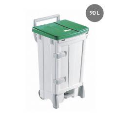 Conteneur vert plastique 90 l Gilac