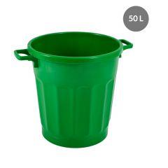 Conteneur rond vert plastique 50 l Gilac