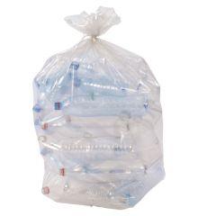 Sac à déchets transparent 110 l 30 µm (250 pièces)