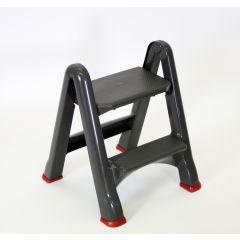 Marche-pied gris 17,2x48,6 cm Rubbermaid