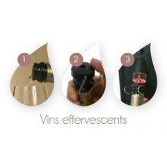 Bouchon pour tour du vin ? champagne Advineo (3 pièces)
