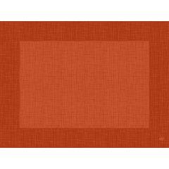 Set mandarine non tissé 40x30 cm Linnea Duni (100 pièces)