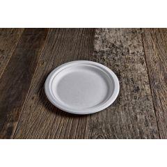 Assiette blanc Ø 22 cm (50 pièces)