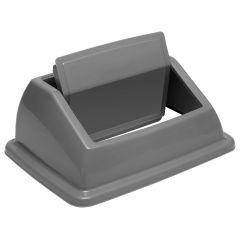 Couvercle rectangulaire gris 33,30x45,50 cm Tri Selectif Probbax
