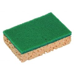 Tampon abrasif vert 7x11 cm Spontex (10 pièces)