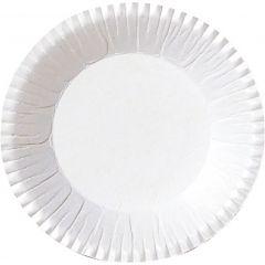 Assiette ronde blanche Ø 9 cm Duni (2000 pièces)