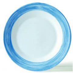 Assiette creuse ronde blue jean Ø 22,50 cm Brush Arcoroc