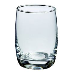 Verrine transparente verre ronde Solia (6 pièces)