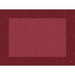 Set bordeaux non tissé 40x30 cm Linnea Duni (100 pièces)