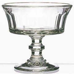 Coupe à dessert transparente verre ronde Perigord La Rochere