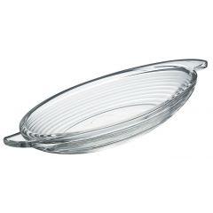 Coupe à dessert transparente verre ovale Bali La Rochere