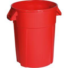 Conteneur rouge plastique 85 l Probbax