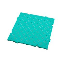 Caillebotis carré vert 50x50 cm Gilac