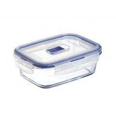 Boîte avec couvercle rectangulaire transparente verre 82 cl 17,95 cm Pure Box Active Luminarc