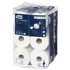 Papier hygiénique blanc ouate de cellulose Smartone Tork (6 pièces)