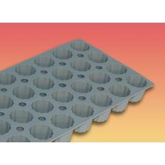 Moule mini-cannelés bordelais silicone gn 1/3 1,90 cl Elastomoule De Buyer
