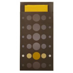Pochette marron ouate de cellulose 20x10 cm Pop Kandi Pro.mundi (200 pièces)