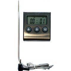 Thermomètre digital spécial four cuisson -50/300 °C +/-1°C Alla France