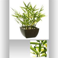 Bambou artificiel pot 35 cm
