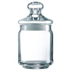 Pot transparent verre rond Pot Club Luminarc