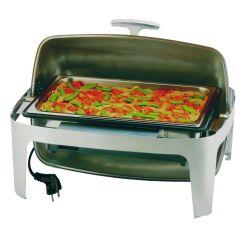 Chafing dish électrique gn 1/1 rectangulaire 13,50 l
