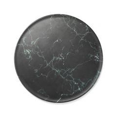 Planche ronde marbre mélamine bord profilé Matt Platex