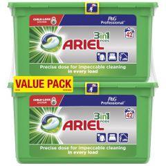 Lessive liquide pods 3en1 84 doses Ariel