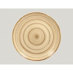 Assiette coupe plate rond beach porcelaine Ø 31 cm Twirl Rak