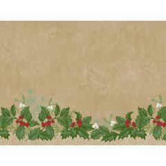 Set papier 30x40 cm Snowy Berries Duni (250 pièces)