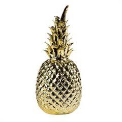 Ananas décoratif or 33 cm Pols Potten