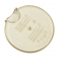 Couvercle plastique 18,75x19,05 cm Cambro