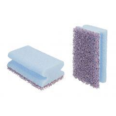 Tampon abrasif pourpre bleu 70x120 mm 3m (6 pièces)