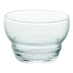 Coupelle ronde transparente verre 11 cl Ø 7,50 cm Equinox Durobor Glassware