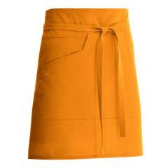 Tablier orange taille unique Nell Molinel