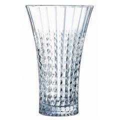 Vase droit transparent Ø 17 cm 27 cm Eclat