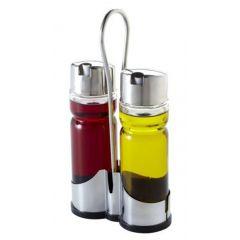 Ménagère huile/vinaigre transparente 22 cm Pro.mundi
