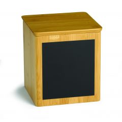 Présentoir carré bois 15 cm Write On Tablecraft