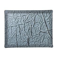 Plateau rectangulaire noir plastique 37 cm Acrylic3 Platex