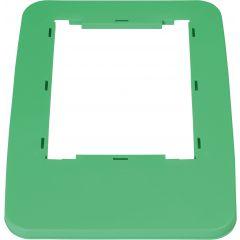 Cadre couvercle vert plastique 32,50x45,50 cm Probbax