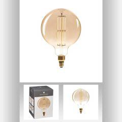 Ampoule led ambre g200 6w ronde Ø 20 cm