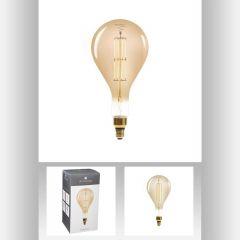 Ampoule led ambre ps160 6w ovale Ø 16 cm