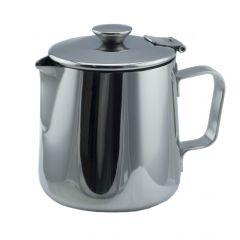Théière ovale grise 35 cl Cafeterie Inox