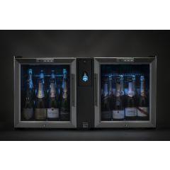 Tour du vin ? champagne + 2 caves 16 bouteilles 1 niveau 60 W Advineo