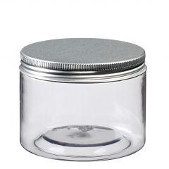 Pot avec couvercle argent Ø 85 mm 275 ml Solia (12 pièces)