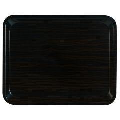 Plateau brun bois compresse bord profilé Suprex Platex